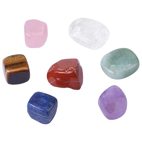 Caiqinlen Piedras curativas, fáciles de Transportar Piedra de Cristal Natural, para peceras caseras Que Deseen hidroponía en Botella