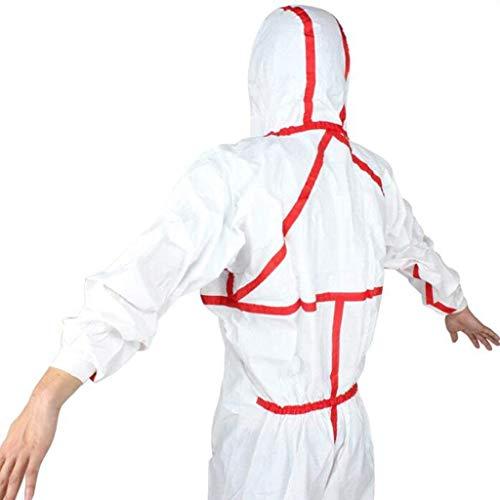 Cxmm totale bescherming, veiligheid, werkkleding, wegwerp chemicaliënbeschermende kleding