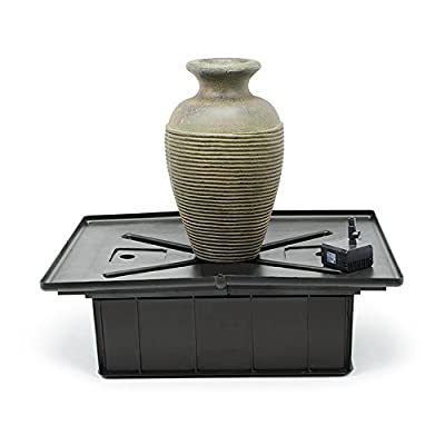 Aquascape Amphora Vase Water Fountain for Landscape and Gardens