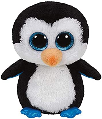 Ty Bonnets Waddles The Penguin 15 CM Paillette Yeux