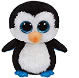 Ty 36008 Beanie Boos Waddles - Peluche de pingüino [Importado de Alemania]