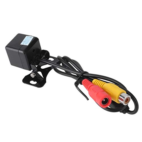 DDyna Cámara de visión Trasera de Coche Caliente Impermeable 170 Grados Ccd 4 LED Noche Asistencia de estacionamiento de Noche Accesorios de Coche Estilo de Coche - Negro