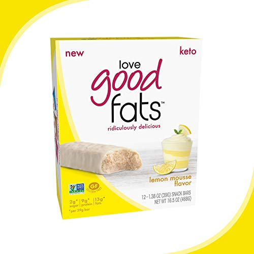 Love Good Fat Protein Bars