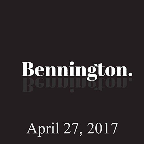 Bennington, Pamela Adlon and Joe List, April 27, 2017 audiobook cover art
