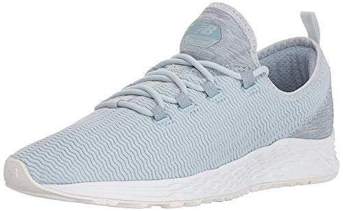 New Balance Women's Fresh Foam Arishi Sport V1 Running Shoe, Light Porcelain Blue, 6 W US