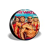 Mr.Wessly Baywatch Universal Type Suitable for Jeep, Trailer, Rv, SUV, Truck and Many Vehicles,14/15/16/17 Inch Size Tires.