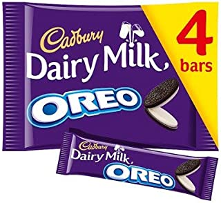 Original Oreo Chocolate Bar Pack Imported From The UK England Delicious Cream Filled Oreo Cookie Pieces Smothered In Smooth Milk Chocolate
