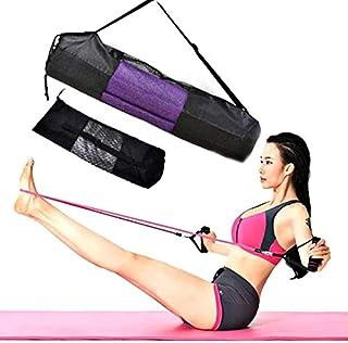 Portable Yoga Mat Storage Bag Backpack It is Used for Holding Yoga mat. Black Fitness Yoga Mat Carrier Bag:Black, China