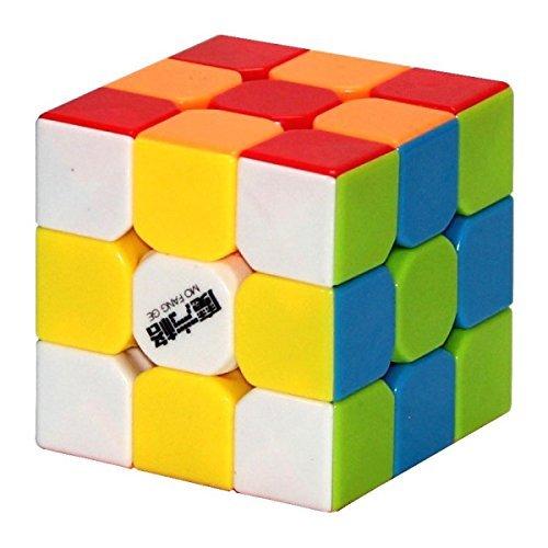 Cubelelo Qiyi Thunderclap 3X3 Magic Speed Cube Stickerless 56mm