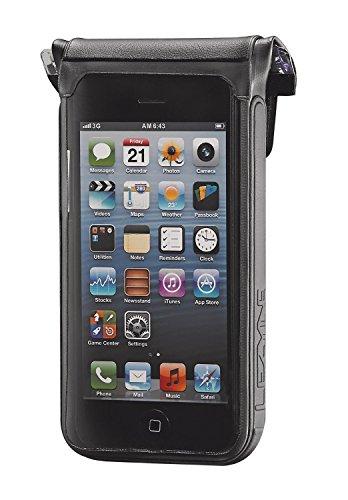 Lezyne Sattel Trainer Laufradtasche Smartphonehülle Smart Dry Caddy, Schwarz, 38, 1-PC-PHONE-S4-V104