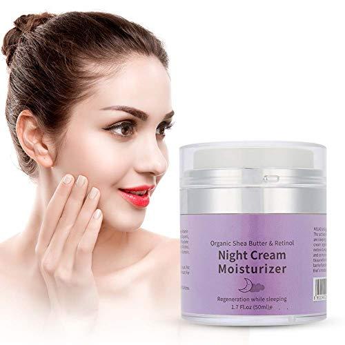 Anti-aging crème, vochtinbrengende nachtcrème Hydraterende crème Anti-rimpel gezichtscrème 50 g