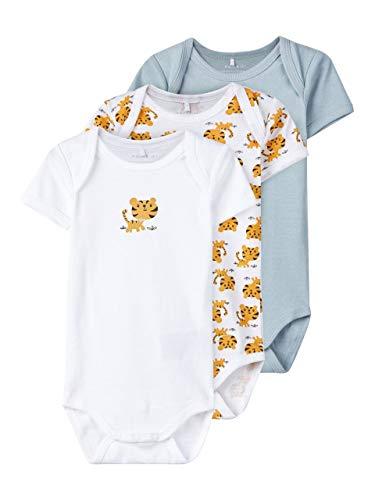 NAME IT - Body para bebé (3 Unidades), diseño de Tigre