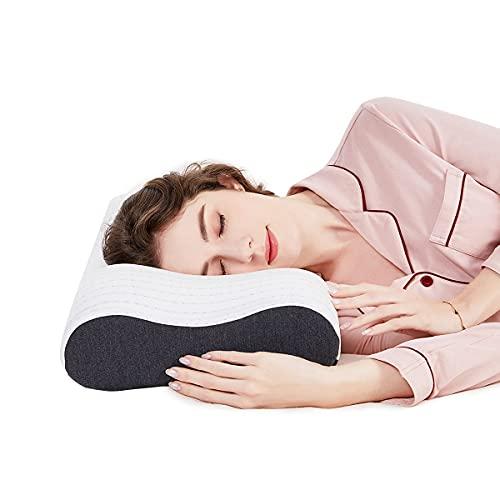 SIKAINI Memory Foam Kissen Nackenstützkissen Orthopädisches Kissen Schlafkissen für Erwachsene