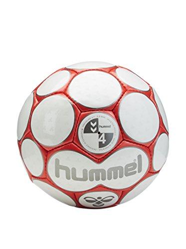 hummel 0,2 Premier - Balón de fútbol Blanco White/Red Talla:5 ...