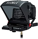 Inmei X1 Teleprompter for DSLR Camera/Smartphone/Tablet, Portable Teleprompter Kit with Remote...