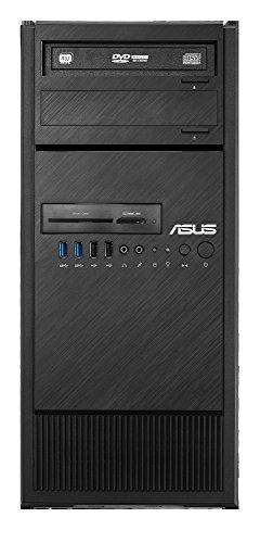 ASUS ESC500 G4-M3L - Ordenador de sobremesa (Intel Xeon E3-1245 V6, 16 GB de RAM, 1 TB HDD + 256 GB SSD, ASUS TURBO-GTX1060-6G, Windows 10 Professional), Negro