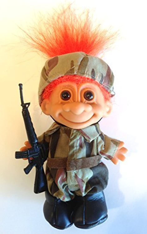 moda clasica My Lucky Lucky Lucky Soldier Troll Doll 6  by Russ Berrie  Ahorre 60% de descuento y envío rápido a todo el mundo.