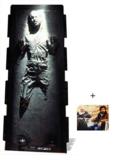 Han Solo in Carbonite Star Wars Lifesize Lebensgrosse Pappaufsteller mit 25cm x 20cm foto