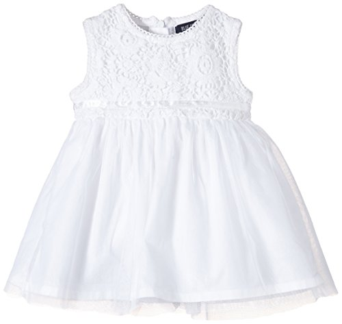 Blue Seven Mädchen 92231 Kleid, Weiß (Weiss Orig 001), (Herstellergröße: 62)