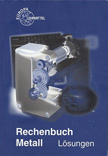 Rechenbuch Metall: Lösungen