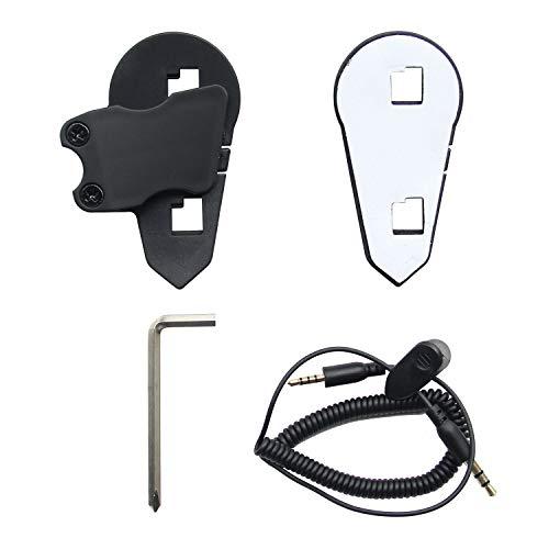 Accesorios de Instalación para BT-S3 Intercomunicador Casco Moto Auriculare