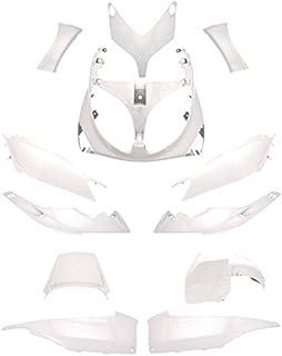 77390012 carena plastica scudo anteriore bianco compatibile con mbk booster one by Camamoto cod yamaha bws original anno dal 2014 al 2017