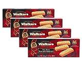 Galletas escocesas de mantequilla pura Walkers - 4 x 150 gramos
