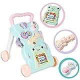 WBLin Andador para bebé multifunción Juguetes Musicales con Carrito de bebé...
