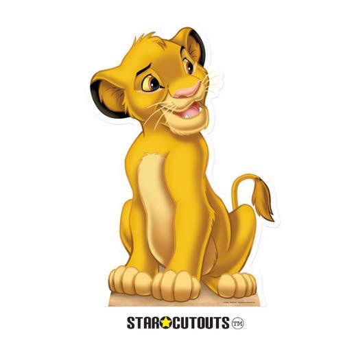 Simba Lion King Size 95 cm Staffa Dimensioni