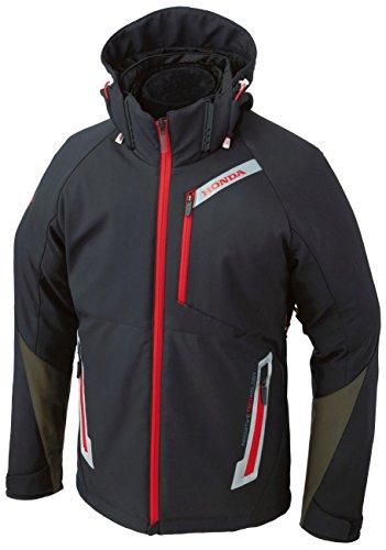Honda(ホンダ) RSタイチソフトシェルオールシーズンパーカー ジャケット ブラック/レッド WMサイズ 0SYTP-X3A-KWM