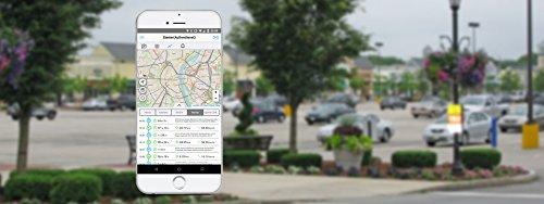 Logpit Fahrtenbuch OBD2 Stecker Inkl. SIM Karte und EU Flat – sofort startklar - echtzeit Flottenmanagement GPS Tracker Deutscher Software und App. Finanzamtkonform - automatisches Fahrtenbuch