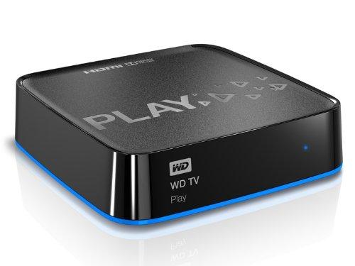 Western Digital WDBHZM0000NBK-EESN WD TV Play Media-Player (Full HD, HDMI, WiFi, USB)