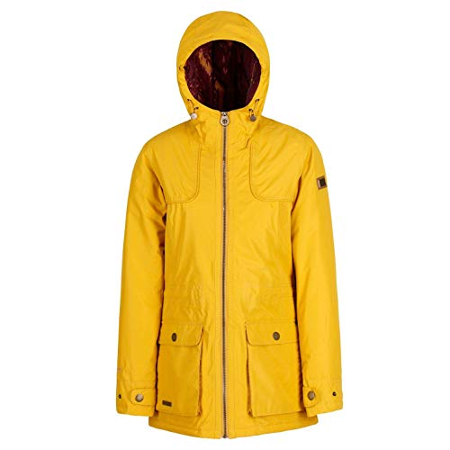 Regatta Damen Bechette Waterproof and Breathable Insulated Jacke, Mustard Seed, 46