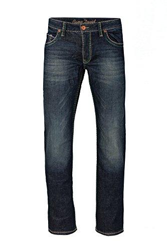 Camp David Herren Jeans Straight Leg CO:NO:C622 DARK VINTAGE COMFORT FIT, Farbe: Dunkelblau, Größe: 31/34