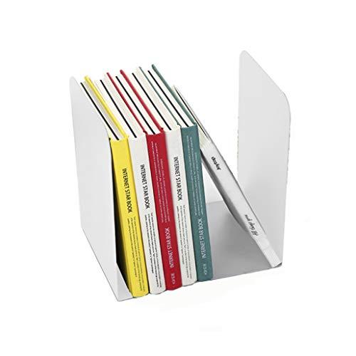 AfinderDE Buchstützen Metallbügel Metall Dekorativ minimalistisch Leseständer für CDs, Bücher & DVDs 1 Paar