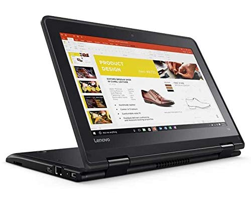2019 Lenovo ThinkPad Yoga 11e 11.6' Anti-Glare HD Touchscreen 2-in-1 Business Laptop - Intel Core i3-7100U, 128GB M.2 SSD, 8GB RAM, Wi-Fi AC, HDMI, Bluetooth, Ethernet RJ-45, Webcam, Windows 10 Pro
