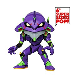 From evangelion, eva unit 01, as a stylized 6 inch pop vinyl from funko Figure stands 16cm and comes in a window display box Check out the other evangelion figures from funko collect them all Funko pop! is the 2018 toy of the year and people's choice...