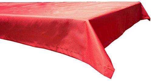 beo Table d'extérieur Plafond rectangulaire imperméable, 76 x 76 cm, Rouge