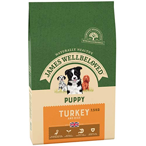 James Wellbeloved Trocken Truthahn und Reis Junior 2 kg, 1-er Pack (1 x 2 kg)