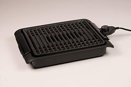 griglia elettrica 2500w roventa BEST DIRECT Starlyf Smokefree Grill Original Come Visto alla TV Griglia No Fumo Carne e Verdure Grigliate Set Piastra Extra Cucina Barbecue (Griglia Elettrica)