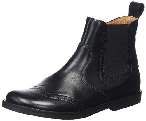 Froddo Kinder Unisex Kids Ankle Black G3160061 Chelsea Boots, Schwarz, 34 EU (2 UK)