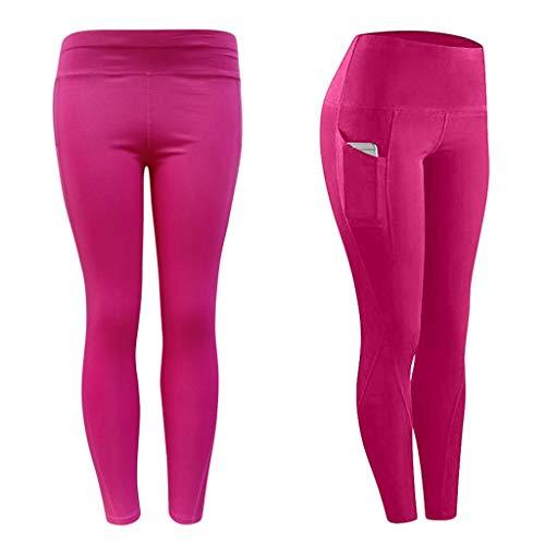 Pantalon de Jogging Femmes,100% Coton Pantalons de Survêtement Long pour Jogging Running Fitness Pantalon de Training Pantalon Leggings Crayon Extensible d'hiver doublé en Polaire Chaud pour Femmes