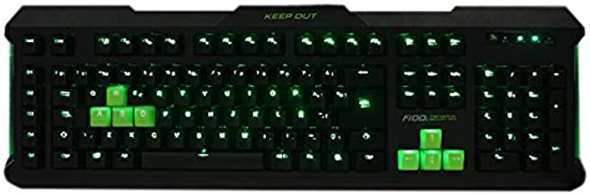 Keep Out Gaming F100S - Teclado Gaming, Color Negro: Keep-Out ...