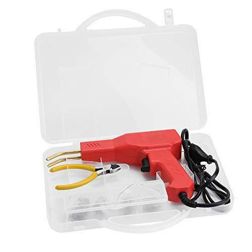 KKmoon Plastics Soldador Garaje Herramientas Grapadoras en Caliente Máquina Engrapadora de PVC Máquina de Reparación de Parachoques Reparación de Grapadora en Caliente Herramienta de Soldadura