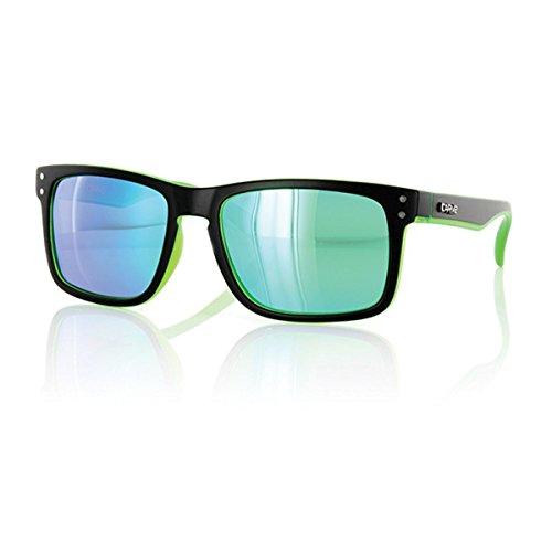Carve Goblin–Gafas de Sol, TBB054, Matt Black/Clear Green PR