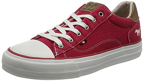 MUSTANG Damen 1272-301 Sneaker, Rot (rot 5_Rot), 39 EU