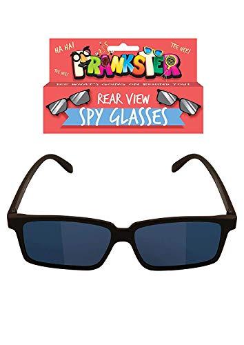The Home Fusion Company - 2 occhiali da spia per bambini, con specchietto retrovisore e scritta 'See Behind You'