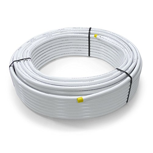 Pipetec Aluverbundrohr Aluminium Mehrschichtverbundrohr 20x2 mm 10m weiss PEX-Rohr Alu-Mehrschicht-Verbundrohr MV-Rohr Mehrschichtrohr Heizung Wasser