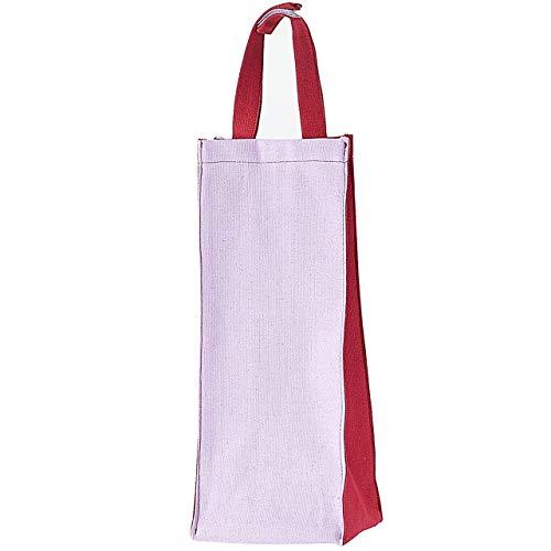 Kuai レジ袋ストッカー ポリ袋ストッカー ツートーン ごみ袋収納 キッチン収納 壁掛け 仕分け 買い物バッグ ピンク系 アザミ (1)