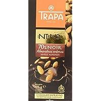 Trapa Intenso Noir 70 % con Almendras Enteras 175 g